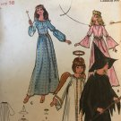 Butterick 6312 Witch, Angel, Fairy Godmother and Princess costumes Size 16 Sewing Pattern