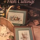 Leisure Arts Fresh Cuttings Counted Cross Stitch Leaflet 553 by Paula Vaughn