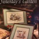 Leisure Arts Yesterday's Garden Counted Cross Stitch Leaflet 551 by Paula Vaughn