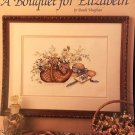 Leisure Arts A Bouquet for Elizabeth Counted Cross Stitch Leaflet 492 by Paula Vaughn