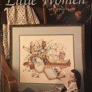 Leisure Arts Little Women Counted Cross Stitch Leaflet 590  Book Twelve by Paula Vaughn