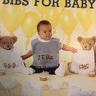 Bibs for Baby Cross Stitch Pattern  Leisure Arts 646