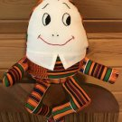 Humpty Dumpty Lovey with 18 ct. Aida Collar to add child's name Cross Stitch Blank Embroidery