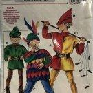 Neue Mode Peter Pan Robin Hood Renaissance Sewing Pattern Halloween Costume size 4 to 10