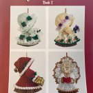 Holiday Broom Dolls to Crochet from Maggie's Crochet 8 designs using bedspread cotton thread