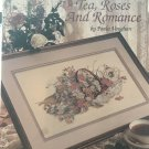 Leisure Arts Tea, Roses and Romance Counted Cross Stitch Leaflet 703 by Paula Vaughn