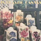 Floral Tissue Covers in Plastic Canvas Leisure Arts  1214 Boutique tissue covers