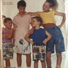 McCall's 3036 Boys and Girls Shorts with elastic waistline, pockets Sewing Pattern sizes 3 -14