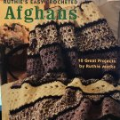 Ruthie's Easy Crocheted Afghans Leisure Arts 3856 Crochet Pattern
