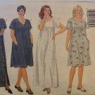 Butterick 6601 Plus Size Misses' Loose-fitting Muu Muu Pullover Dress Sewing Pattern Size 16 18 20