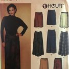 Simplicity 7015 Misses' 1 Hour wrap a round Skirt in 2 lengths Sewing Pattern Size XS, S, M