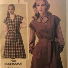 Butterick 3923 Misses' Classic V-Neck Jumper Sewing Pattern Size 14