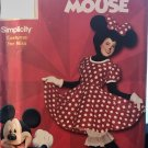 Misses' Minnie Mouse Costume Sewing Pattern Simplicity 9387 Size 8 - 18