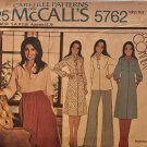 McCall's 5762 Misses dress or top and overskirt Sewing Pattern Size M 14 - 16 Marlo's Corner