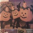 Children's Halloween Costume Pattern Simplicity 4459 BaseBall Pumpkin  size s m l