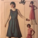 Simplicity Pattern 7707 UNCUT Vintage 1970's Jiffy Wrap Dress or Jumper and Pants Size 16 Bust 38