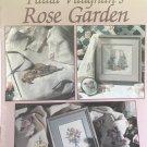 Leisure Arts Cross Stitch leaflet 2025 Rose Garden by Paula Vaughan