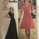 Simplicity 6549 Misses' Jiffy Dress in Two Lengths Stretch Knits Only Sewing Pattern size 14 bust 36