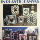 Picture Yourself in Plastic Canvas Leisure Arts Leaflet 1317 Picture Frames