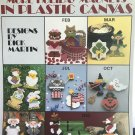 More Holiday Magnets for Plastic Canvas by Dick Martin Leisure Arts 1138