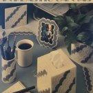 Desk Decor in Plastic Canvas Leisure Arts Leaflet 1303