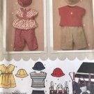 Simplicity 3765 Babies' Dress Top Pants T-shirt & stroller bag Sewing Pattern size XXS - L