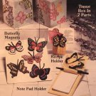 Butterflies for Plastic Canvas Leaflet 40, Shirley Shirley Originals