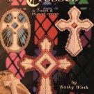 Plastic Canvas Crosses Pattern Booklet American School of Needlework 3188