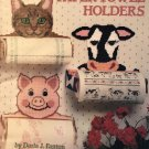 American School of Needlework 'Paper Towel Holders' Plastic Canvas Pattern Booklet #3082
