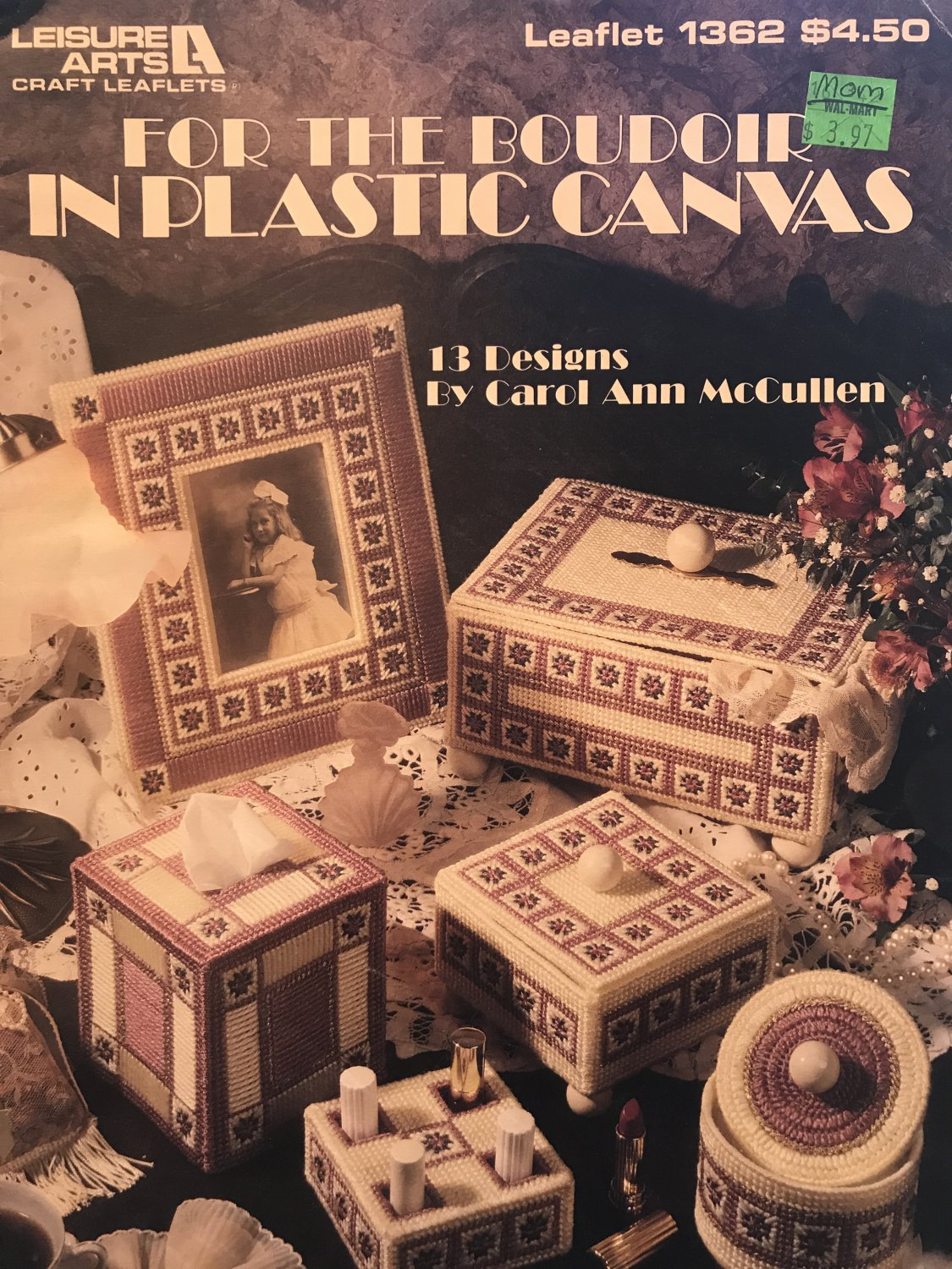 For the Boudoir in Plastic Canvas Leisure Arts Leaflet 1362