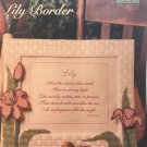 Lily Border Picture Frame  The Needlecraft Shop Plastic Canvas Pattern 964028