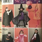 Child costumes Simplicity sewing pattern 3595. Pattern for 6 looks sizes 3-4-5-6-7-8
