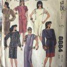 McCall's 8884 Misses' Pullover Dress or Top, Skirt, and Sash Sewing Pattern size 16 - 18
