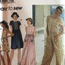 Simplicity 7081 Misses' Romper, Jumpsuit, Dress and Hat Sewing Pattern size L, XL