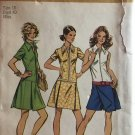 Simplicity Misses' Mini-Pantdress Skort Dress Sewing Pattern size 18