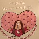 Cathy Designs in Counted Cross Stitch Gloria and Pat for Paragon book 5095