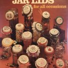Leisure Arts leaflet 278 Jar Lids for All Occasions counted cross stitch pattern