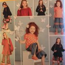 Simplicity Patterns 1180 Child's and Girls' Tops, Pants and Skirt Sewing Pattern size 7 - 14