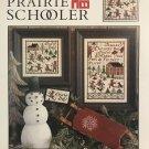 The Prairie Schooler January 177 Cross stitch charts