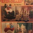 Plastic Canvas Santa & His Rein-Dears Leisure Arts 1848