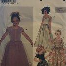 Simplicity 7000 Karen Z Flower Girl Top Skirt sewing pattern size 3 - 6