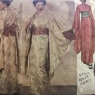 Butterick 6698 Japanese Kimono Robe Obi Costume Sewing Pattern traditional Geisha Chest 32 to 48