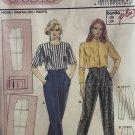 Burda 4584 Ladies' Pants Slacks Sewing Pattern size 6 to 24