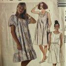 McCall's 3735 Plus Size Misses' Pullover House Dress Muu Muu Sewing Pattern Size 18 20