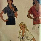 Very Easy Vogue 8014 Loose-fitting blouse sewing pattern size 14