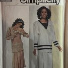 Simplicity 7883 Misses' Two-Piece Dress Sewing Pattern size 18