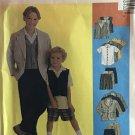 McCall's 9240 Boy's Jacket  Shirt Pants Shorts Sewing Pattern size 4 5 6