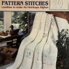 63 More Easy To Crochet Pattern Stitches Leisure Arts 2146 Combine to make an Heirloom Afghan