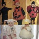 Simplicity 2788 0816 Toddlers Halloween Costume Sewing Pattern Duck Lamb Ladybug Pumpkin 1/2 - 4