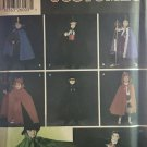 Simplicity 5927 Child's Costume Collection including Cape, Cloak, Hats Sewing Pattern - Size S M L
